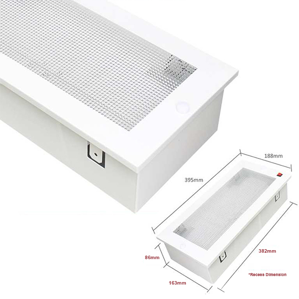 Led recessed emergency light se 20r east west electric sdn bhd led recessed emergency light aloadofball Gallery